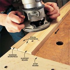Router Basics: The router does more than cut fancy edges. It'll also cut flawless dadoes and rabbets and perfect patterns. Our basics here show you how to set up and execute these cuts with outstanding results.