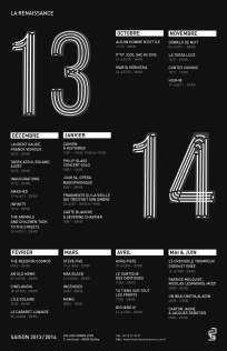 Les designers graphiques frappent trois coups #Théâtre_de_la_Renaissance #Graphics #bellecourecole