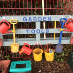 Nursery School Garden Ideas - Horticulture thoughts certainly are an excellent s. Nursery School G Outdoor Learning Spaces, Kids Outdoor Play, Outdoor Play Areas, Backyard Play, Kids Play Area, Eyfs Outdoor Area Ideas, Play Yard, Outdoor Tools, Children Play