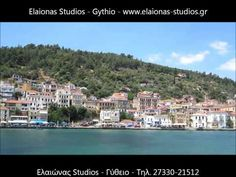 The ELAIONAS STUDIOS are situated 2,5 km from Gythio and 800m from the beach Selinitsa, built recently on a hill with nice view to Laconic gulf and the mountains Taygetos and Parnon    Each one studio is fully equipped (2-4 persons):    Excursions: Mistras-Monemvasia-Spilaia Dirou-Aeropoli-Gerolimenas-Limeni-Oitilo­-Porto Kagio-Tainaro-Mountains Taygetos and Parnon.    Contact: Stavropoulos Evangelos  Tel. +30-27330-21512 Mobile. +30-697-3788697  www.elaionas-studios.gr…