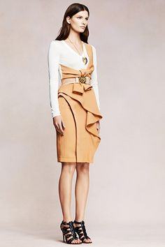 Photos of the runway show or presentation for Altuzarra Resort 2013 Womenswear Shows in New York. Love Fashion, Runway Fashion, Fashion Show, Fashion Design, Simply Fashion, Womens Fashion, Top Mode, Edgy Look, Dressed To Kill