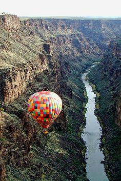 This is number one on my bucket list. I will take a hot air balloon ride in New Mexico. by ida