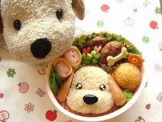 Fun food Rice Dog Hund Reis Bento cute niedlich animals tiere sausage würstchen bockwürstchen unterwegs to-go