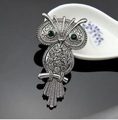 Hot sale vintage  animal owl  brooch pin/Korean luxury fashion jewelry women accessories wholesale/broches mujer/brosche/broszki