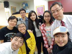 主日崇拜@8-1-2017 董彩萍姑娘證道,TeensF 為她的事奉禱告🙏。