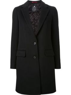 mid-length single breasted coat
