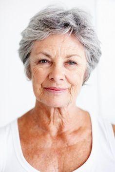 styles for short hair seniors - Google Search