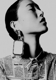"""Sora Choi in """"Play it Loud"""" by Ben Hassett for Vogue Japan, March 2018"""