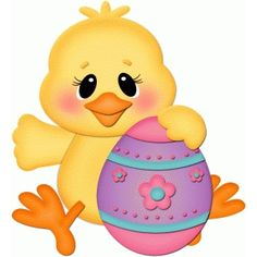 Silhouette Design Store: chick sitting with easter egg pnc