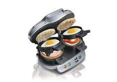 Hamilton Beach 25490 Dual Breakfast Sandwich Maker $17.99 (amazon.com)