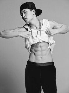 "iKON's Bobby Discusses Goals and Scars for GQ Magazine's ""Men of the Year"" Edition Kim Jinhwan, Hanbin, Kdrama, Asian Boys, Asian Men, Bobby, Got7, Lee Hi, Magazine Man"