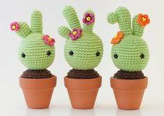 Patrón cactus ganchillo