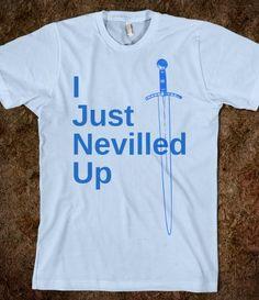 Neville Sword MUST MAKE MY OWN