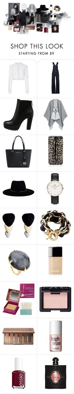 Fall vibes ... by elenatsartsani on Polyvore featuring Carolina Herrera, Burberry, Citizens of Humanity, Steve Madden, Michael Kors, Ippolita, CC SKYE, Daniel Wellington, Marc by Marc Jacobs and Zimmermann