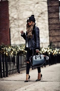 winter outfits night Its Getting Cold In Here- 15 - winteroutfits Mode Outfits, Chic Outfits, Fashion Outfits, Womens Fashion, Dressy Casual Outfits, Swag Fashion, Jeans Fashion, Winter Outfits, Night Outfits