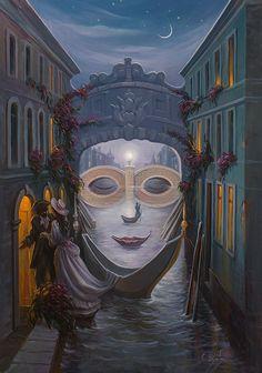 Oleg Shupliak - Venice