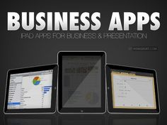 Business apps for iPad.