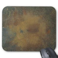 Dark Brown Rust Texture Background Mouse Pads