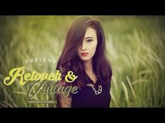 Photoshop Retouch & Vintage Color Effect Tutorial - ReganWork - YouTube