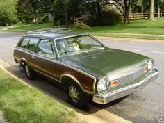 The pinto pictured is shown in color Dark Yellow Green Poly. My Dream Car, Dream Cars, Ford Pinto, Us Cars, Car Ford, Station Wagon, Gto, Mixtape, Childhood Memories