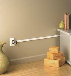 Projetos e ideias legais para esconder fios aparentes no seu lar