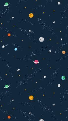 Fundo de Planetas
