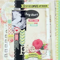 My Minds Eye. Find Your Wings & Fly. Up & Away Paper Pad Kit 12X12