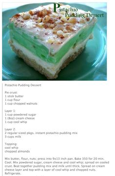 My all-time Favorite Dessert Only I make the crust gluten-free for me