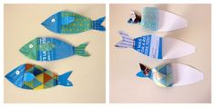 Artist in LA LA Land Illustration: Making Sewn Fish Cards & Giving You the DIY Fish Card Template