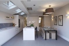 4 bedroom terraced house for sale in St Albans Avenue, London - Rightmove. Victorian Terrace House, Victorian Kitchen, Victorian Homes, Built In Wardrobe, Grey Walls, Kitchen Interior, Home Renovation, Living Room Designs, Property For Sale
