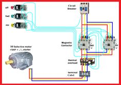 Motor Forward Reverse Wiring Diagram | Elec Eng World