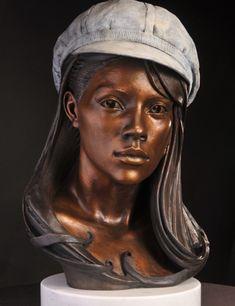 """Patty"" by artist Philippe Faraut #bronze #sculpture #art"