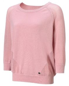 Sweaty Betty Baseline Tennis Knit LS Top, $94