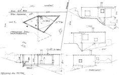 Writers Cabin - Jarmund Vigsnæs Arkitekter - Asker Norway - Details - Humble Homes