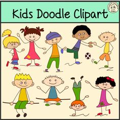 Kids+Doodle+Clipart+from+AMStudio+on+TeachersNotebook.com+-++(72+pages)++-+Kids+Doodle+Clipart+set+contains: ~18+.png+color+images.+ ~18+.png+black+and+white+images.+ ~18+.jpeg+color+images.+ ~18+.jpeg+black+and+white+images.+