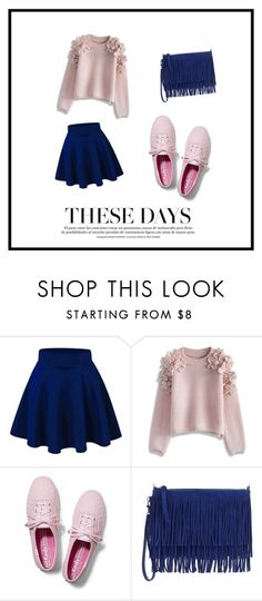 Untitled #90 by nashrinsabila on Polyvore featuring Chicwish, Keds, Sam Edelman, women's clothing, women's fashion, women, female, woman, misses and juniors
