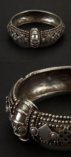 South India - Tamil Nadu | Bracelet; silver. ca. 1st half of the 20th century | 1'300€