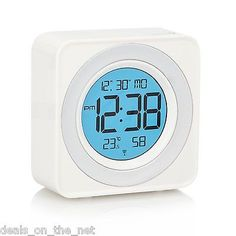 Acctim selma radio controlled msf alarm #clock #calendar temperature #color displ,  View more on the LINK: http://www.zeppy.io/product/gb/2/172170818845/