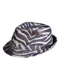 Girls Clothing | Hats | Zebra Sequin Fedora Hat | Shop Justice  LOVE IT CUTE