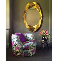 Deknudt Decora Gold Nugget Mirror £810.00
