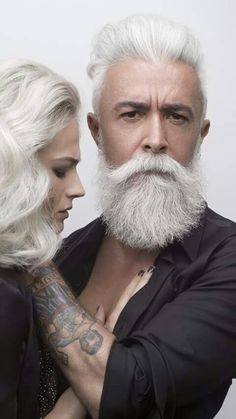 Hope my hair and beard is this marvelous one day