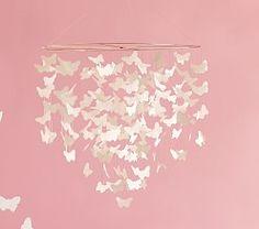 Ceramic Heart Ceiling Mobile