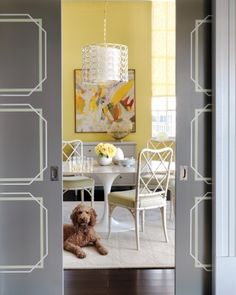 Geometric Door Design
