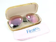 7b9040cab0 Firmoo Aviator Sunglasses SC1640 in Pink Silver - Review