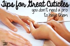 Easy tips to have perfect cuticles!  Pin now and read later
