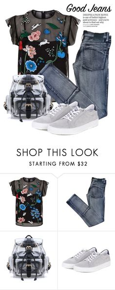 """""""Casual Jeans 3128"""" by boxthoughts ❤ liked on Polyvore featuring Markus Lupfer, Cheap Monday and Barbour"""