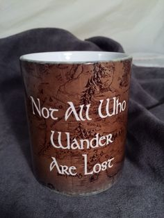 Middle Earth Color Changing Mug by EngraveIt on Etsy