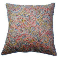 almofada estampa paisley cashmere - Kasa 57