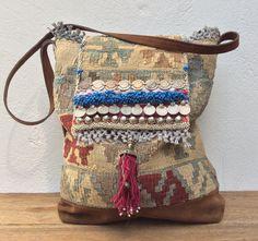 Handmade kelim bag (Reserved listing for M.)