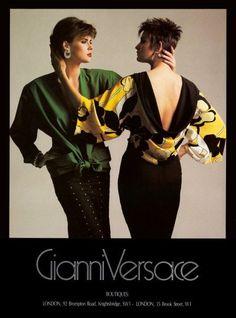 Cindy Crawford & Hoyt Richards by Richard Avedon, 1986 ... Hoyt Richards Versace